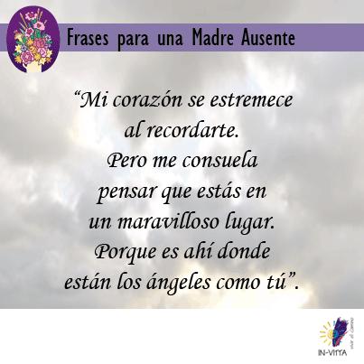 Frases Para Una Madre Ausente Luz María Tavera