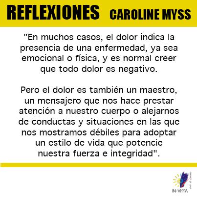 Frases Caroline Myss Luz María Tavera